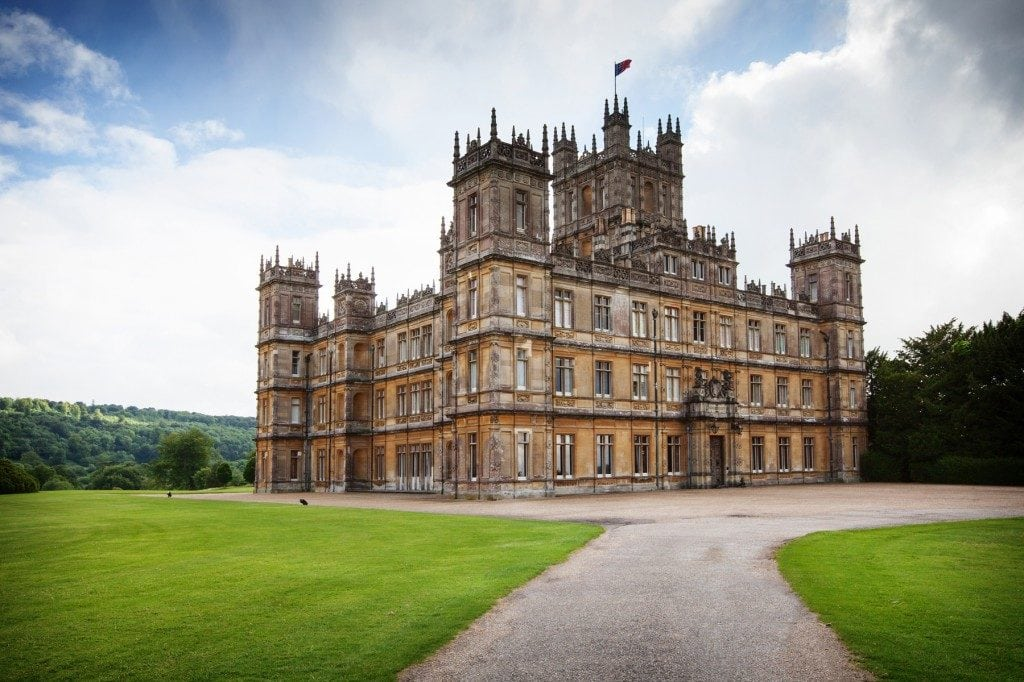 Highclere Castle: Hampshire, England